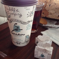 Photo taken at Caribou Coffee by Sema S. on 5/9/2014