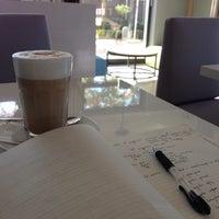 Photo taken at Portowa 28 Cafe by Sebastian B. on 10/14/2013
