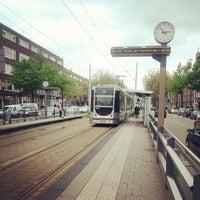 Photo taken at Tramhalte Schieweg by Alexey I. on 5/18/2013