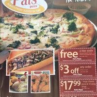 Photo taken at Pat's Pizza & Pasta by Jon G. on 3/9/2016