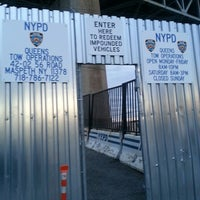 Photo taken at NYPD Queens Tow Operations by RaY D. on 3/22/2013