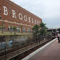 Photo taken at Brookland-CUA Metro Station by Reed on 7/10/2013