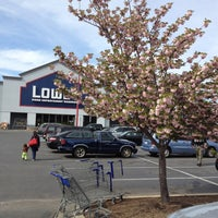 Photo taken at Lowe's Home Improvement by Reed on 4/21/2013