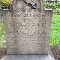 Photo taken at Grave of Edgar Allan Poe by Dianne B. on 4/19/2013