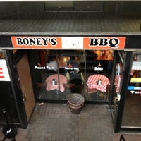 Photo taken at Boney's BBQ by CaroinColorado on 10/25/2012