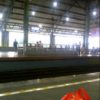 Photo taken at Stasiun Gambir by sofyan m. on 2/2/2013