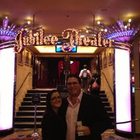 Photo taken at Jubilee! Theater by Stephen M. on 11/4/2012