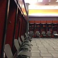 Photo taken at Phoenix Suns Locker Room by Gabe T. on 11/7/2012