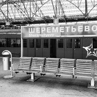Photo taken at Aeroexpress Sheremetyevo (SVO) to Moscow by Mikhail M. on 4/7/2013