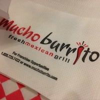 Photo taken at Mucho Burrito Fresh Mexican Grill by Joanne T. on 11/30/2012