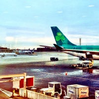 Photo taken at Aer Lingus Lounge by Beth A. on 3/5/2013