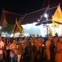 Photo taken at Wat Thep Leela by เจ้าชาย ร. on 7/22/2013