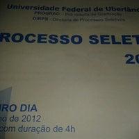 Photo taken at Colégio Estadual Professor Antônio Marques by Pabllo K. on 10/17/2012