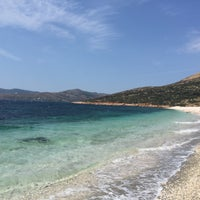 Photo taken at Παραλία Κολυμπάδας by Costas V. on 8/9/2015