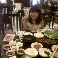 Photo taken at LARIS (steam boat & korean food) by Maretha L. on 4/19/2013