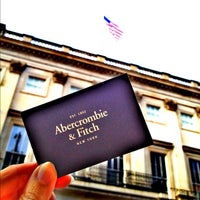 Photo taken at Abercrombie & Fitch by Nadia A. on 10/18/2012