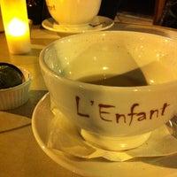 Photo taken at L'Enfant Café by Megan K. on 10/20/2012
