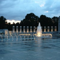 Photo prise au World War II Memorial par Andrew B. le6/27/2013