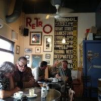 Photo taken at Retro Cafe by Natasha J. on 2/4/2013