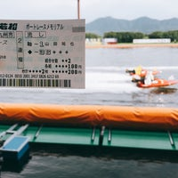 Photo taken at Boat Race Wakamatsu by にしむ。 on 8/26/2017