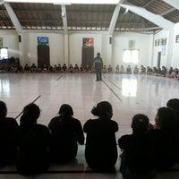 Photo taken at Aula SMAN 5 Denpasar by Dyan D. on 8/2/2013