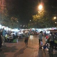 Photo taken at Saphanput Night Market by Tanakrit K. on 2/21/2013