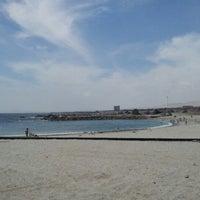 Photo taken at Playa Trocadero by Rodrigo G. on 11/28/2012