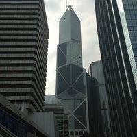 Photo taken at Bank of China (Hong Kong) 中國銀行(香港) by Ricardo E. on 1/3/2013