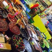 Photo taken at Mahmudabad Fruit Market | بازار روز محمود آباد by Golshan Z. on 7/20/2017