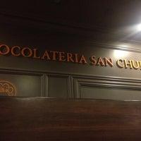 Photo taken at Chocolateria San Churro by Rohhan D. on 6/1/2013