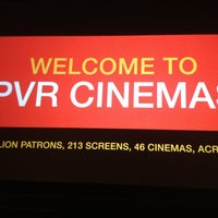 Photo taken at PVR Cinemas Kotak IMAX by Rohhan D. on 2/24/2013