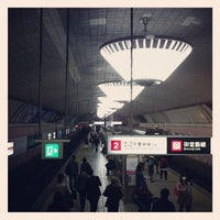 Photo taken at Midosuji Line Shinsaibashi Station (M19) by ko b. on 3/9/2013