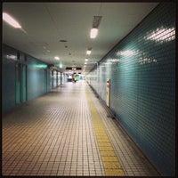 Photo taken at Nakazakicho Station (T19) by ko b. on 5/2/2013