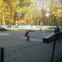 Photo taken at Буча Скейтпарк by Andrew K. on 10/21/2012