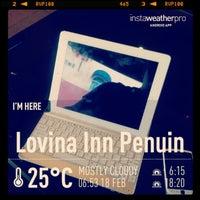 Photo taken at Lovina Inn Penuin by kiki f. on 2/17/2013