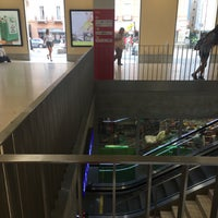 Photo taken at Stazione di Bellinzona by Jelena S. on 7/20/2017