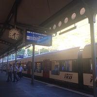 Photo taken at Stazione di Bellinzona by Jelena S. on 7/13/2017