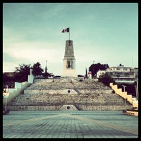 Photo taken at Parque Morelos Bicentenario by Hector R. on 7/30/2012