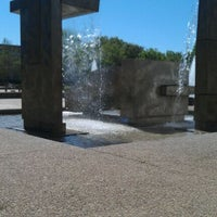 Photo taken at Cullen Fountain by Robert K. on 3/22/2012