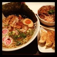 Photo taken at Menya Noodle Bar Chinatown by Candi C. on 7/16/2012