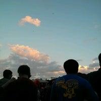 Photo taken at Shifen Sky Lantern Square by H K. on 2/6/2012