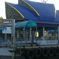 Photo taken at ท่าเรือพระราม 7 (Rama 7 Pier) N24 by Poj R. on 5/8/2013