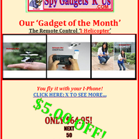 Photo taken at Spy Gadgets 'R' Us by Spy Gadgets 'R' Us on 10/26/2012