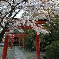 Photo taken at 竹中稲荷神社 by Naoaki H. on 3/31/2018