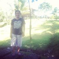 Photo taken at Rancabuaya Beach by senyelda d. on 8/1/2014