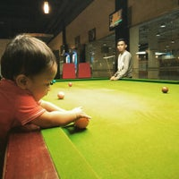Photo taken at Red Ball Snooker by Shafini M. on 11/15/2015