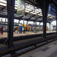 Photo taken at Berlin Friedrichstraße Railway Station by Tom M. on 9/24/2014