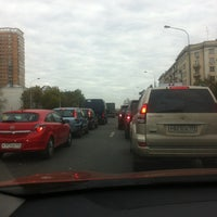 Photo taken at Можайское шоссе by prz on 9/19/2012
