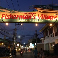 Photo taken at Fisherman's Village Walking Street by Olga G. on 10/11/2013