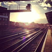 Photo taken at Queenstown Road Railway Station (QRB) by Dave R. on 1/1/2013